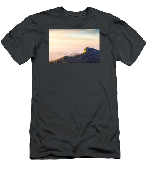 Table Rock Mountain - Linville Gorge North Carolina Men's T-Shirt (Athletic Fit)