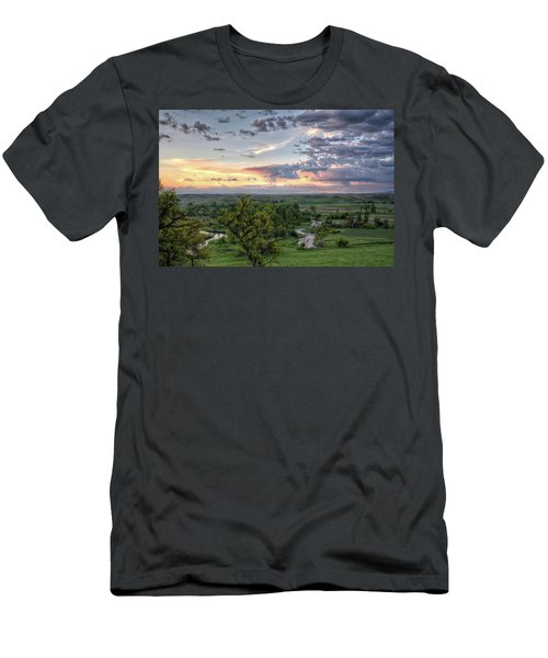 Pastel Spring Morning Men's T-Shirt (Athletic Fit)