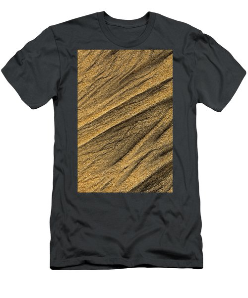 Paterns In The Sand Men's T-Shirt (Athletic Fit)