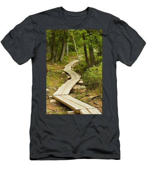 Path Into Unknown Men's T-Shirt (Athletic Fit)