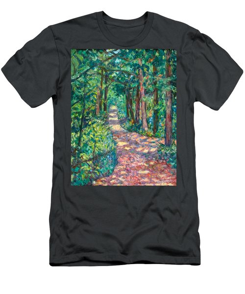 Path On Sharp Top Men's T-Shirt (Athletic Fit)