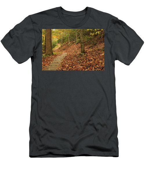 Path To Autumn Men's T-Shirt (Athletic Fit)