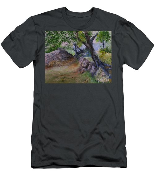 Path To Nowhere Men's T-Shirt (Athletic Fit)