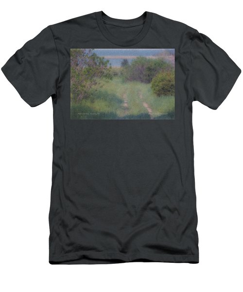 Path To The Sea - Duxbury Ma Men's T-Shirt (Athletic Fit)