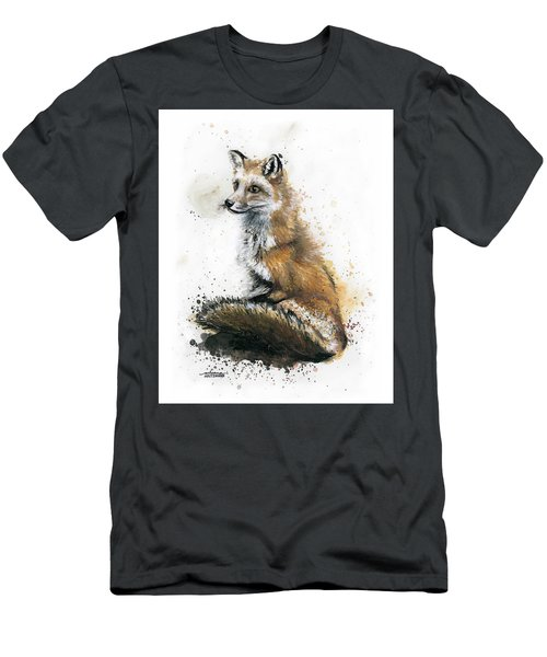Patiently Waiting Men's T-Shirt (Slim Fit) by Arleana Holtzmann