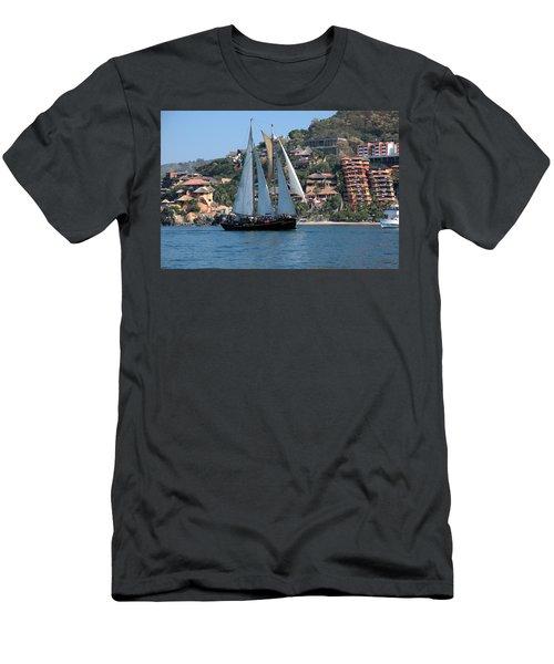 Patricia Belle 01 Men's T-Shirt (Slim Fit) by Jim Walls PhotoArtist