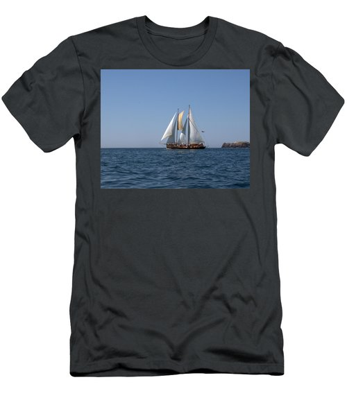 Men's T-Shirt (Slim Fit) featuring the photograph Patricia Belle 02 by Jim Walls PhotoArtist