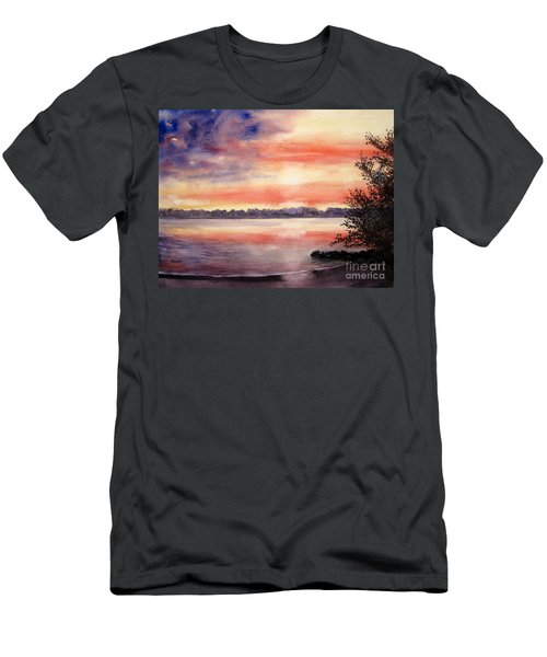 Patriotic Windjammer Sky Men's T-Shirt (Athletic Fit)