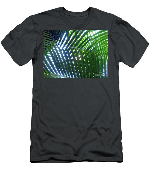 Patterned Palms Men's T-Shirt (Athletic Fit)