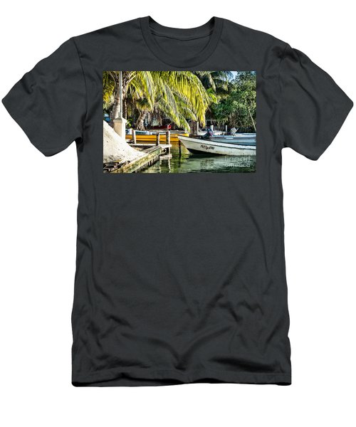 Men's T-Shirt (Slim Fit) featuring the photograph Patty Lou by Lawrence Burry