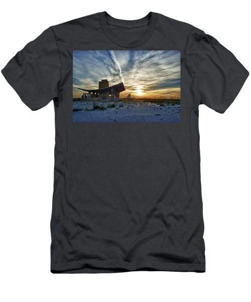 Pavillion And The Beach Men's T-Shirt (Athletic Fit)