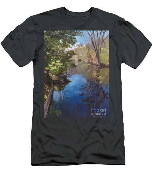Pawtucket Canal Men's T-Shirt (Athletic Fit)