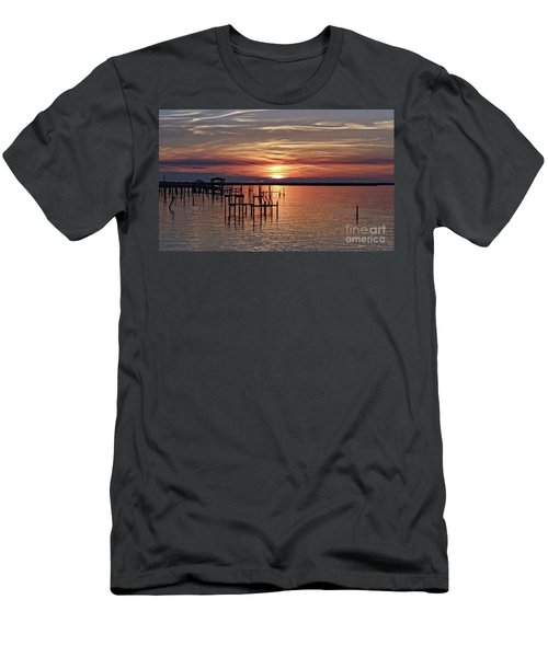 Peace Be With You Sunset Men's T-Shirt (Athletic Fit)