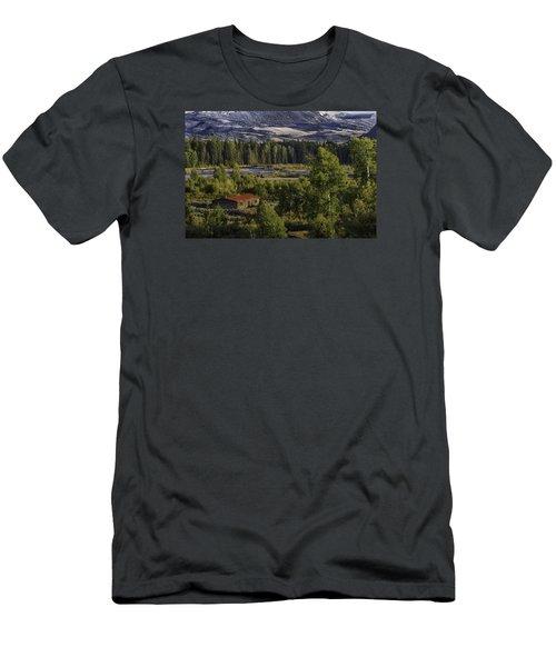 Peace In The Valley Men's T-Shirt (Slim Fit) by Elizabeth Eldridge