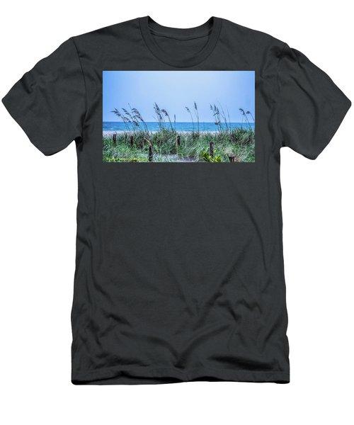 Peace Men's T-Shirt (Slim Fit) by Nance Larson