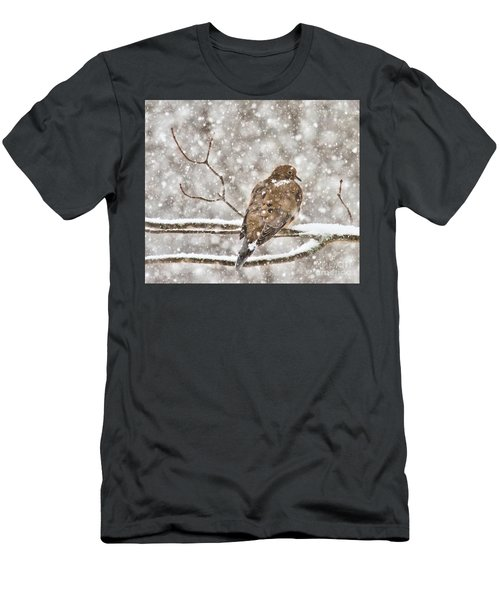 Men's T-Shirt (Athletic Fit) featuring the photograph Peaceful by Debbie Stahre