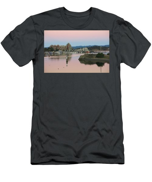 Peaceful Morning Men's T-Shirt (Slim Fit) by Betty Buller Whitehead