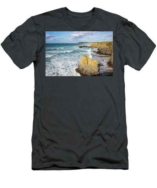Peaceful Waves Men's T-Shirt (Athletic Fit)