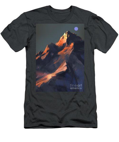 Peak Men's T-Shirt (Athletic Fit)