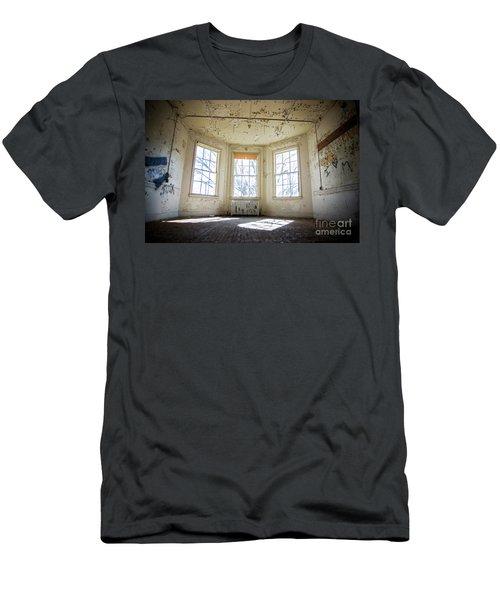 Pealing Walls Men's T-Shirt (Slim Fit) by Randall Cogle