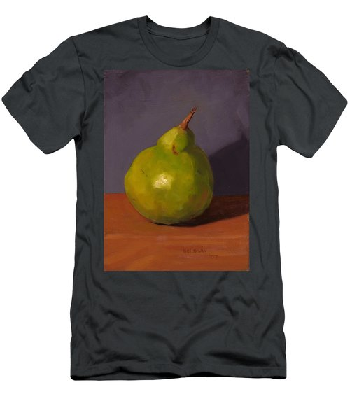 Pear With Gray Men's T-Shirt (Athletic Fit)
