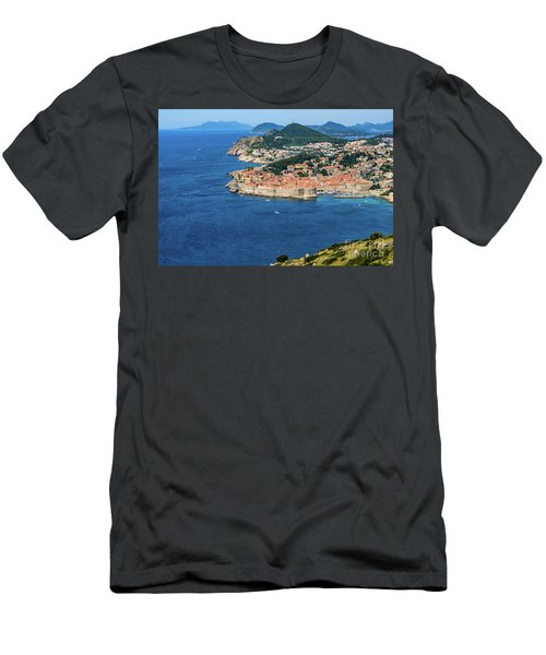 Pearl Of The Adriatic, Dubrovnik, Known As Kings Landing In Game Of Thrones, Dubrovnik, Croatia Men's T-Shirt (Athletic Fit)