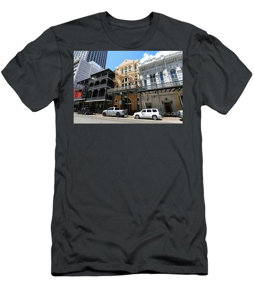 Men's T-Shirt (Slim Fit) featuring the photograph Pearl Oyster Bar by Steven Spak