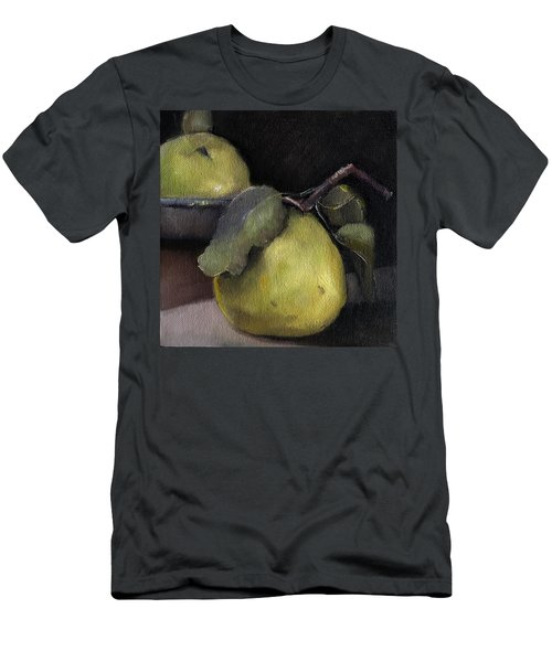 Pears Stilllife Painting Men's T-Shirt (Slim Fit) by Michele Carter