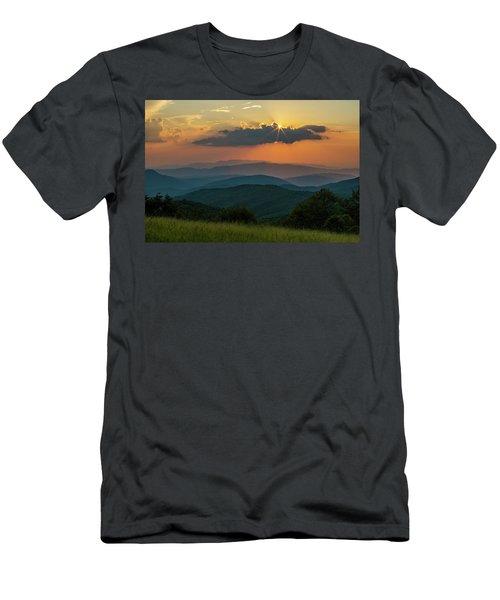Peek A Boo... Men's T-Shirt (Athletic Fit)