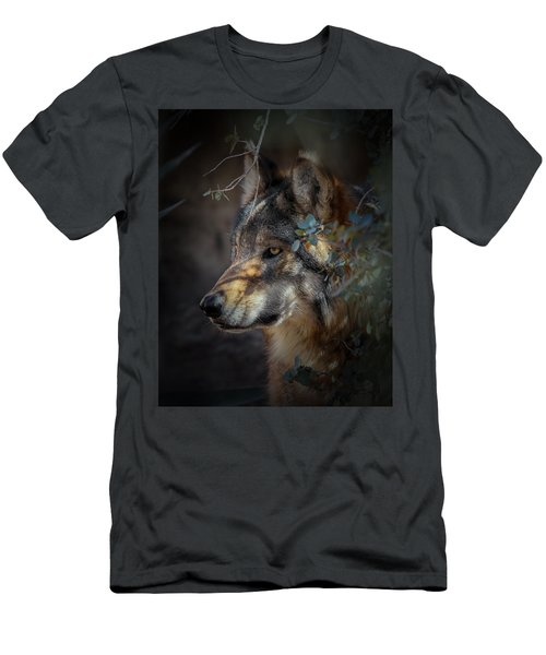 Peeking Out From The Shadows Men's T-Shirt (Athletic Fit)