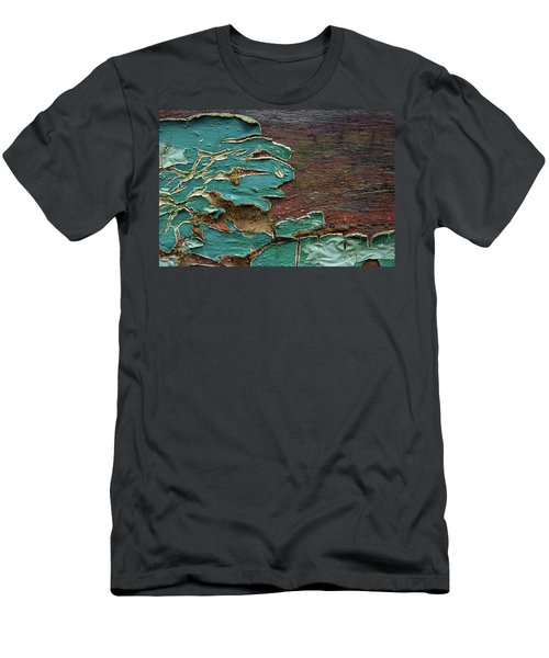 Men's T-Shirt (Slim Fit) featuring the photograph Peeling by Mike Eingle