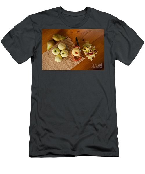 Peeling Ripe Fruits Apples And Pears Men's T-Shirt (Athletic Fit)