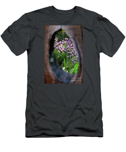 Peephole Garden Men's T-Shirt (Athletic Fit)
