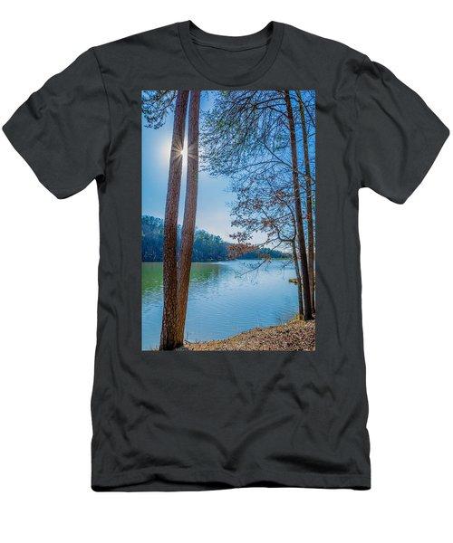 Peeping Sun Men's T-Shirt (Athletic Fit)