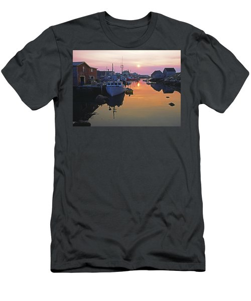 Peggy's Cove, Nova Scotia, Canada Men's T-Shirt (Athletic Fit)