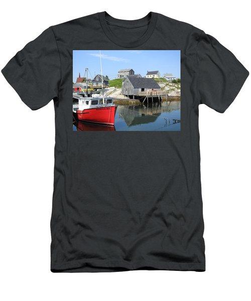 Peggy's Cove, Nova Scotia Men's T-Shirt (Slim Fit)