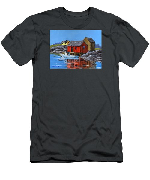 Peggys Cove Men's T-Shirt (Athletic Fit)