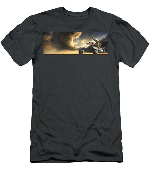 Pelican Evening Men's T-Shirt (Athletic Fit)