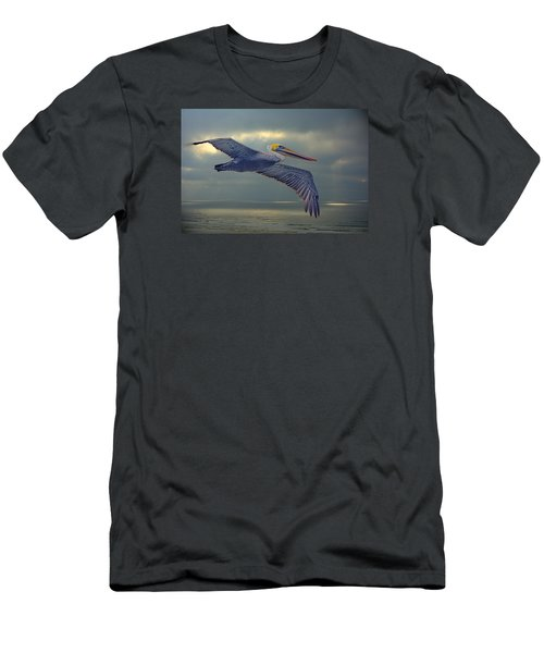 Pelican Flight Men's T-Shirt (Athletic Fit)