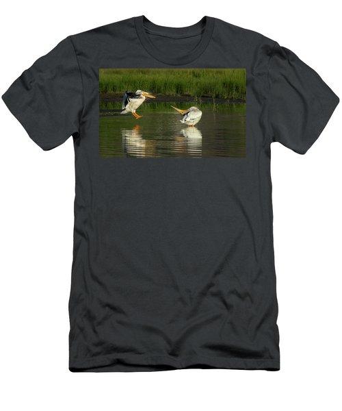 Pelicans 2 Men's T-Shirt (Athletic Fit)