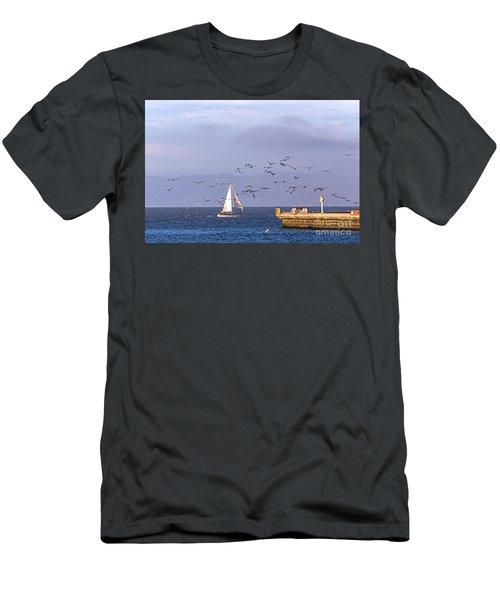 Pelicans Pelicans Men's T-Shirt (Athletic Fit)