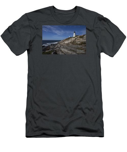 Pemaquid Lightouse Men's T-Shirt (Athletic Fit)