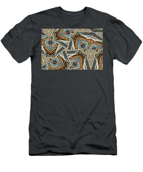 Pemaquid Rocks Pinwheel Men's T-Shirt (Slim Fit) by Peter J Sucy
