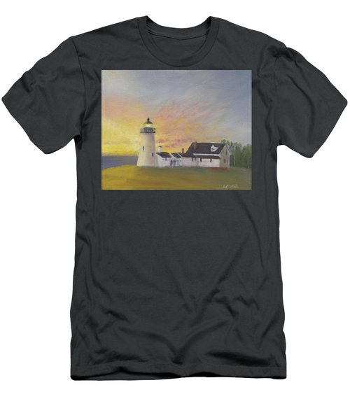 Pemaquid's First Light Men's T-Shirt (Athletic Fit)