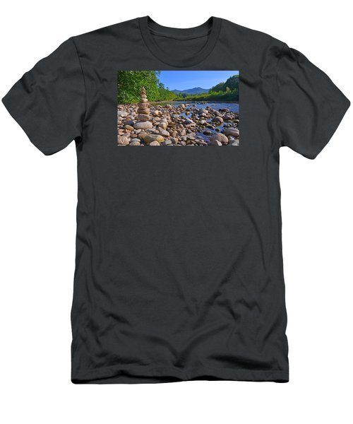 Pemigewasset River, North Woodstock Nh Men's T-Shirt (Athletic Fit)