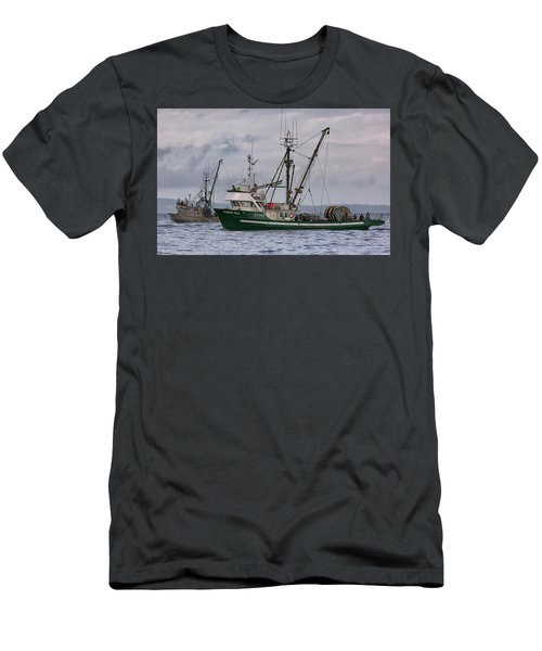 Pender Isle And Santa Cruz Men's T-Shirt (Athletic Fit)