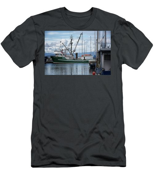 Pender Isle At French Creek Men's T-Shirt (Slim Fit) by Randy Hall