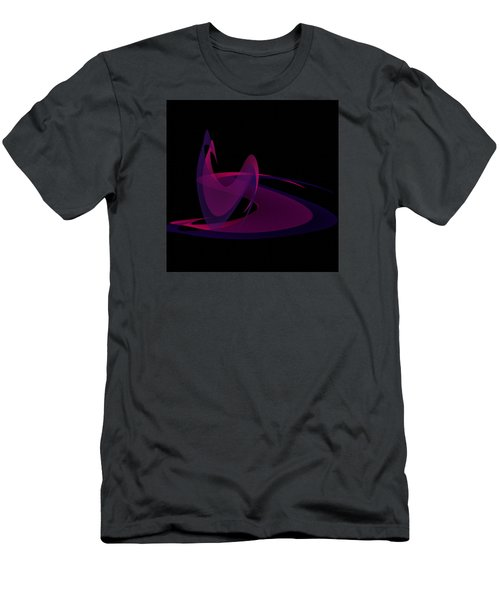 Men's T-Shirt (Slim Fit) featuring the painting Penman Oriiginal-290-intimacy by Andrew Penman