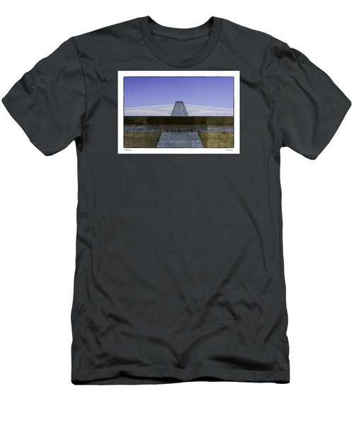 Penobscot Bridge Men's T-Shirt (Slim Fit) by R Thomas Berner