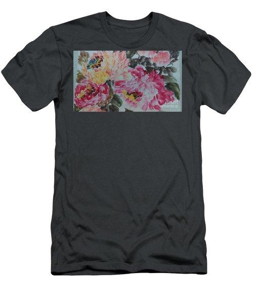Peoney20161229_10 Men's T-Shirt (Athletic Fit)